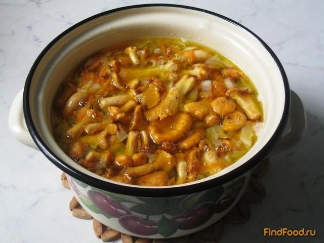 Суп с лисичками рецепт с фото 5-го шага