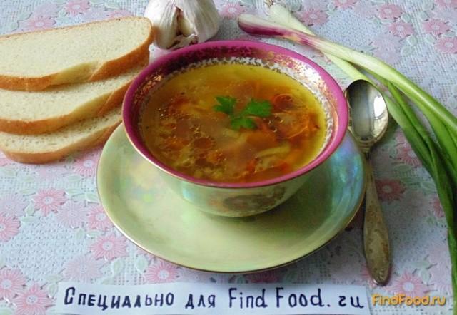 Суп с лисичками рецепт с фото 7-го шага