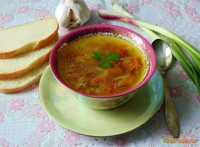Рецепт Суп с лисичками рецепт с фото
