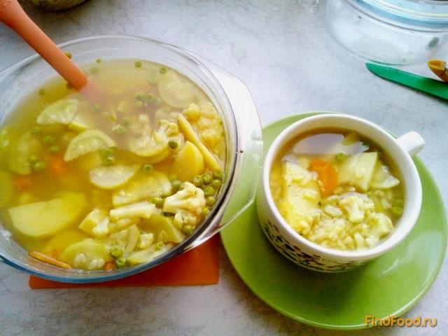 Рецепт Легкий овощной супчик рецепт с фото