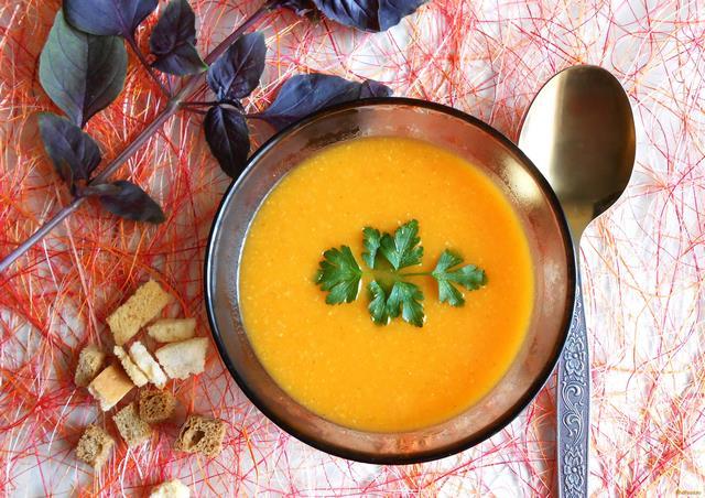 Рецепт Солнечный суп-пюре рецепт с фото