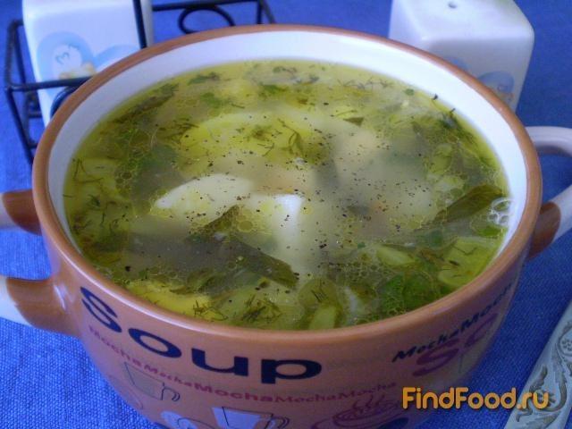 Рецепт Постный зеленый борщ рецепт с фото