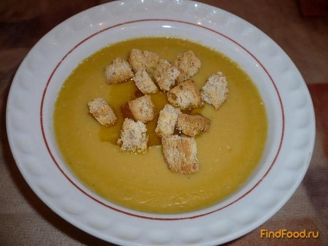 Рецепт Постный чечевичный крем-суп рецепт с фото