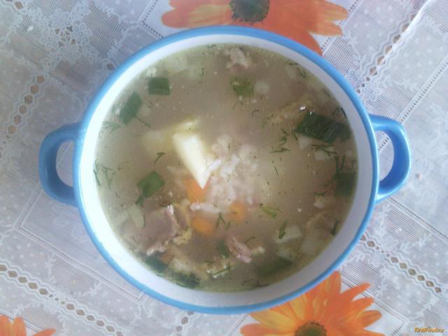Рецепт Рисовый суп с уткой рецепт с фото