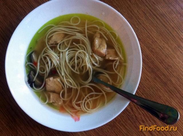 Рецепт Суп с шиитаке рецепт с фото