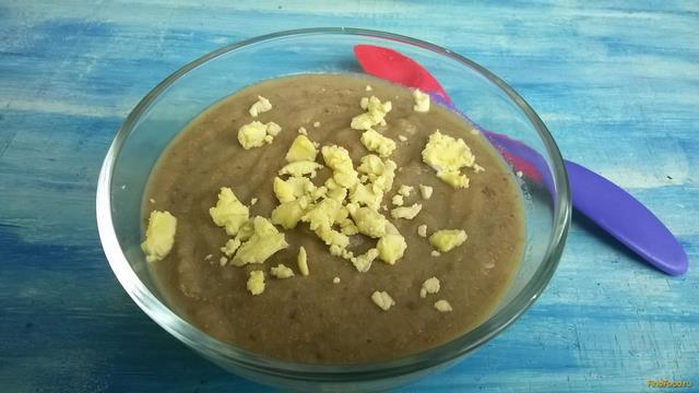 Рецепт Детский суп-пюре с куриной печенью рецепт с фото