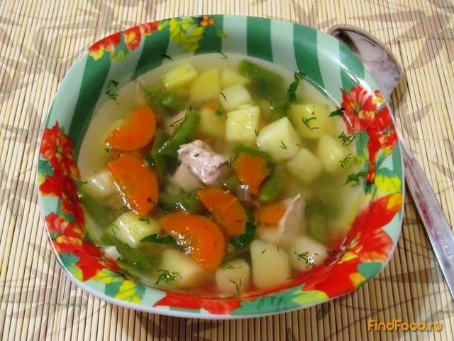 Рецепт Мясной суп с молодой картошкой рецепт с фото