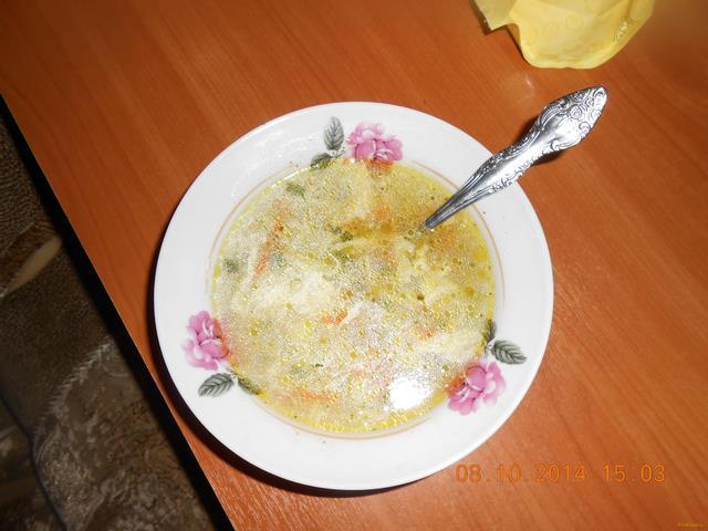 Рецепт Куриная лапша с зеленым луком и яйцом рецепт с фото