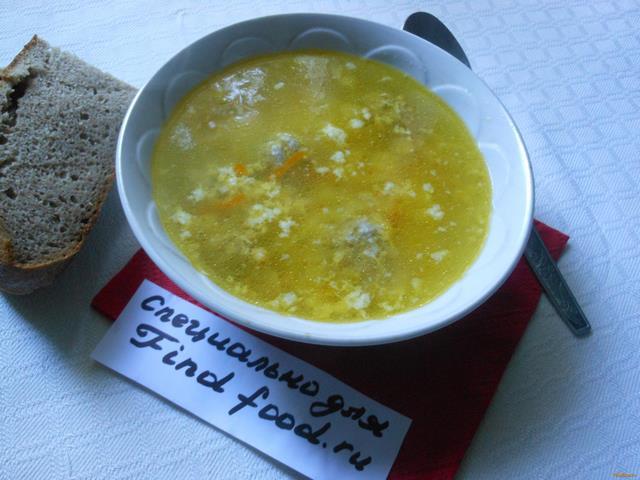 Рецепт Бюджетный суп с фрикадельками рецепт с фото