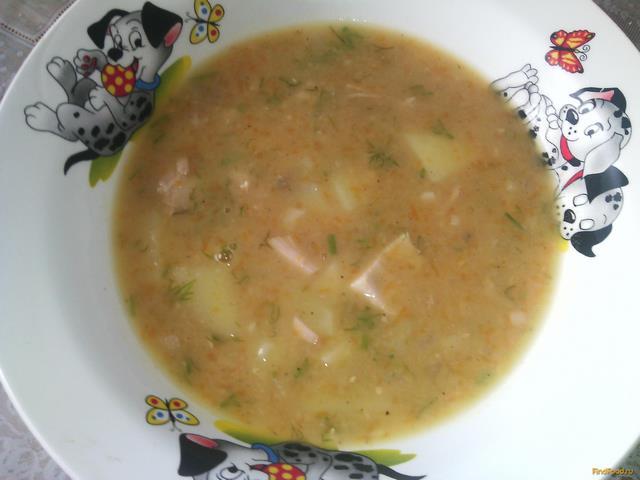 Рецепт Густой гороховый суп рецепт с фото
