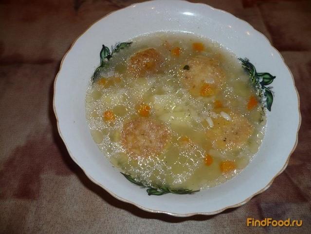 Рецепт Вегетарианский суп с фрикадельками рецепт с фото