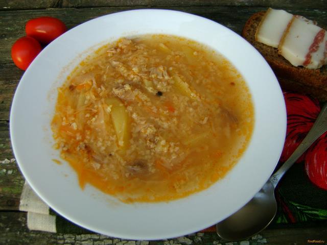 Рецепт Капустяк по-украински рецепт с фото
