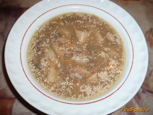 Рецепт Постный чечевичный суп рецепт с фото