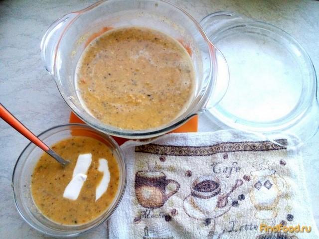 Рецепт Суп-пюре из гороха с сыром рецепт с фото