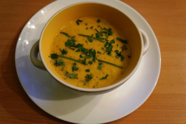 суп пюре с форелью рецепт с фото