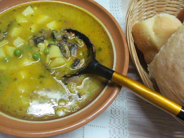 Грибной суп из груздей рецепты