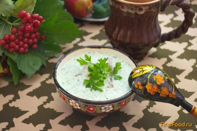 Рецепт Суп из огурцов со свиным языком рецепт с фото
