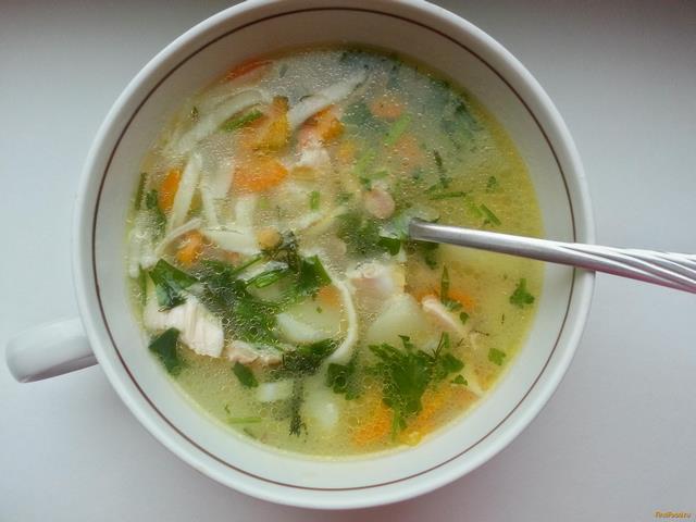 Рецепт Домашняя лапша в курином супе рецепт с фото