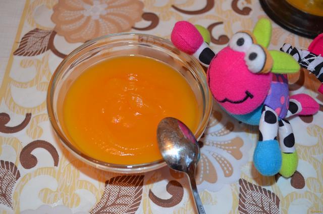 Рецепт Пюре из тыквы с морковью рецепт с фото