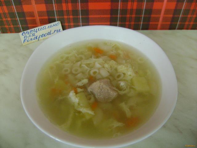 суп с картошкой и макаронами рецепт с фото