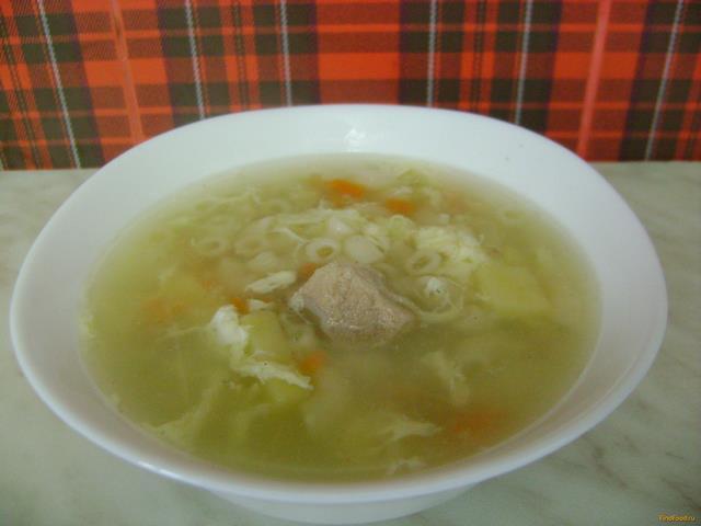 суп из свинины с мокоронами рецепт