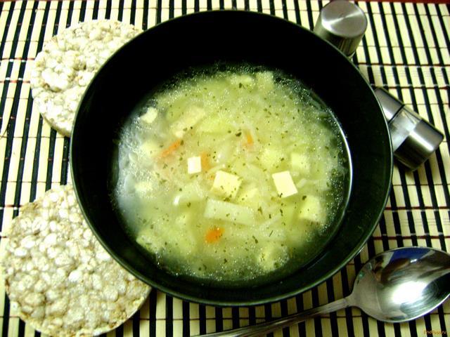 Рецепт Английский суп с копченым сыром рецепт с фото