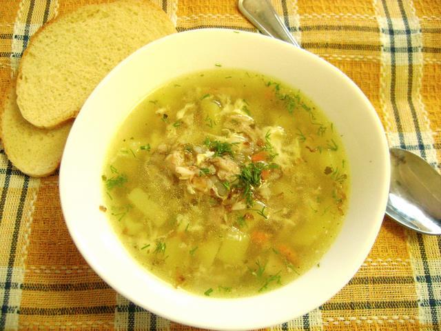 Рецепт Гречневый суп с яйцом в мультиварке рецепт с фото