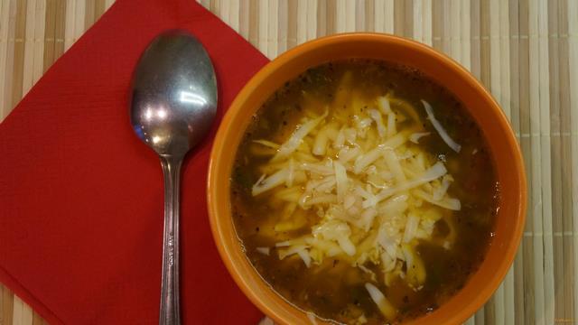 Рецепт Итальянский суп с чечевицей и мелкой пастой рецепт с фото