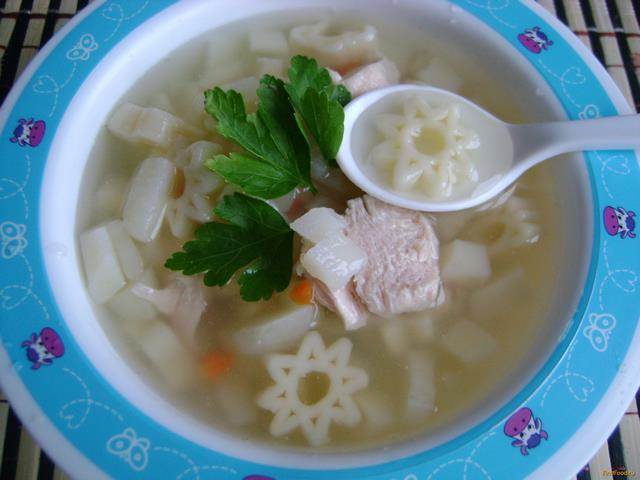 Рецепт Детский суп Космос рецепт с фото