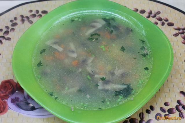 Рецепт Диетический суп на курином бульоне рецепт с фото
