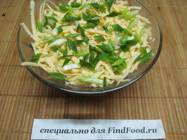 Салат с кальмарами и белокочанной капустой рецепт