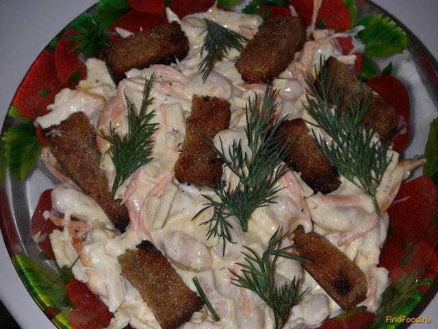Рецепт Салат из фасоли и корейской моркови рецепт с фото