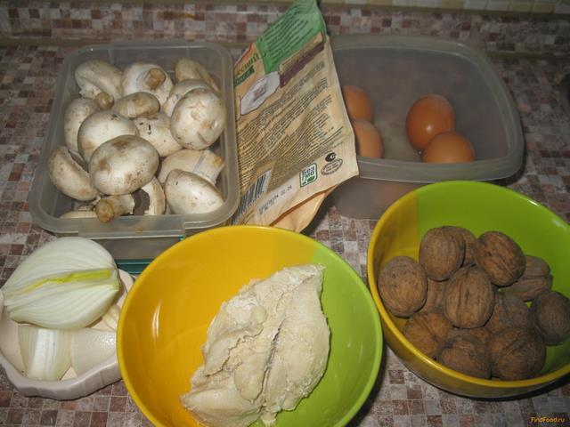 рецепт мяса с шампиньонами