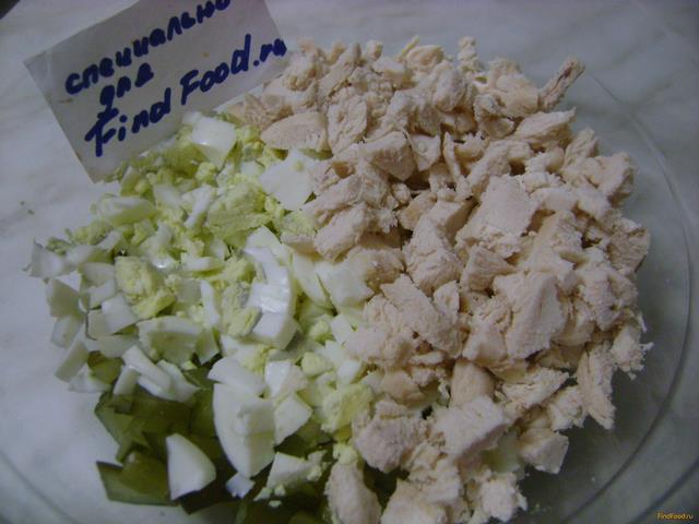 рецепт салата оливье с горошком
