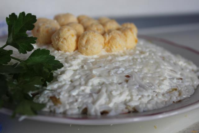 Рецепт Салат Ласточкино гнездо рецепт с фото