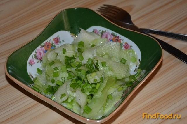 как приготовить салат иззелёной редьки рецепт видео