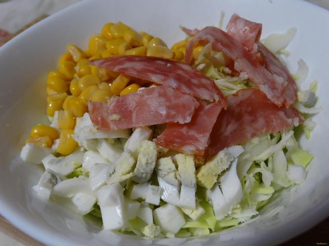 Салаты кольраби с рецепты простые