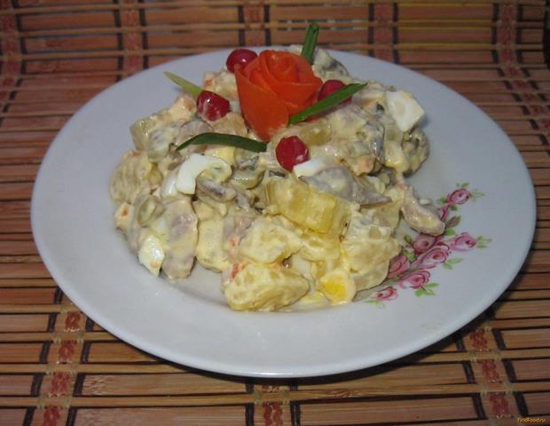 Рецепт Салат Анастасия рецепт с фото