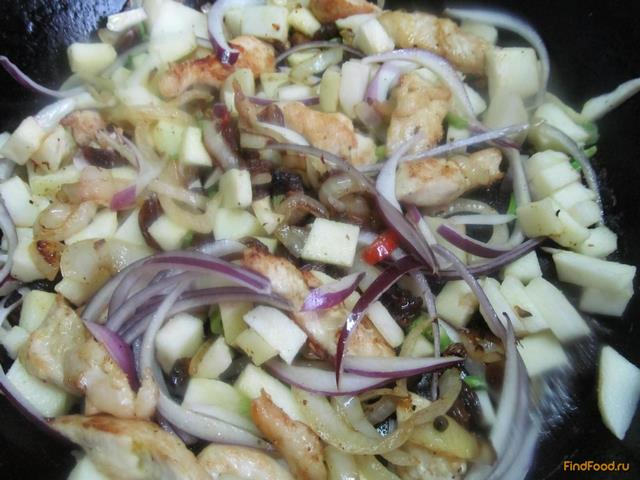 салат из окорочков с изюмом рецепт