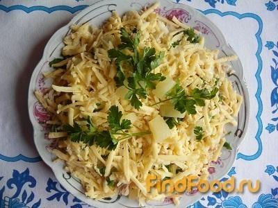 Рецепт Салат с мясом и ананасом рецепт с фото