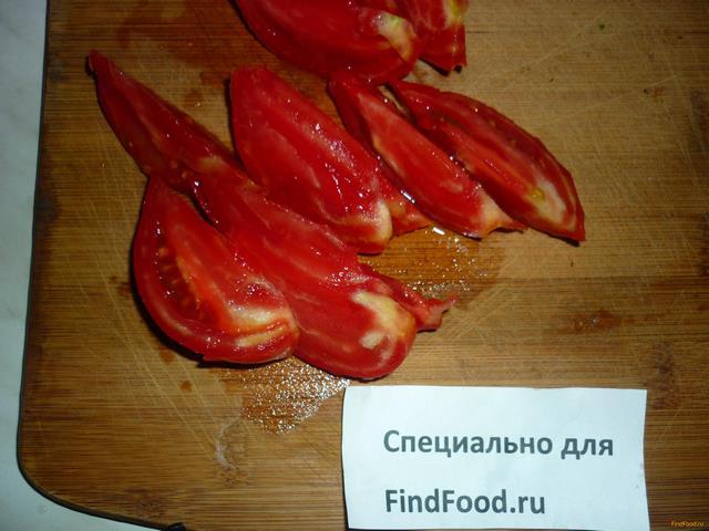 Рецепты с розовых помидор
