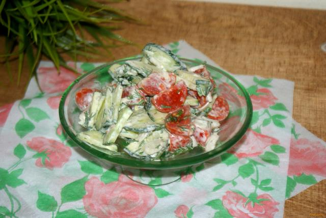 легкие рецепты салатов с помидорами на зиму