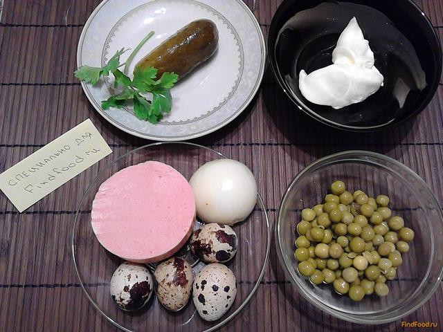 оливье без яиц рецепт с фото