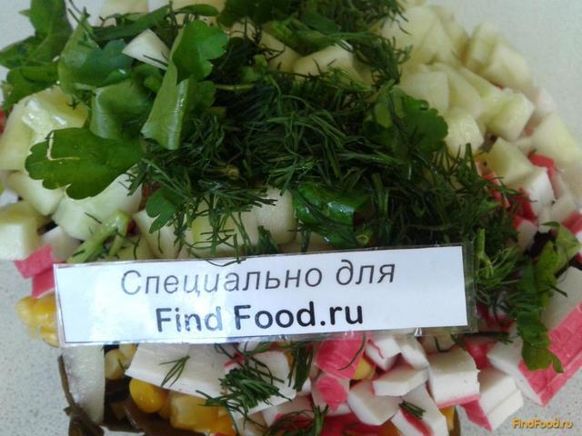 рецепт салата из морской капусты кукурузой