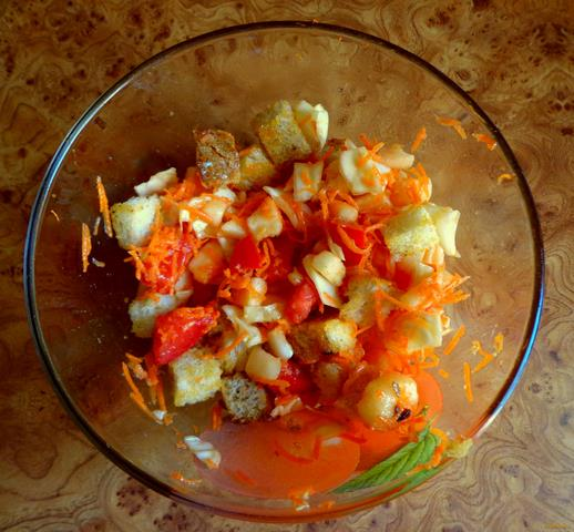 Рецепт Витаминный салат рецепт с фото