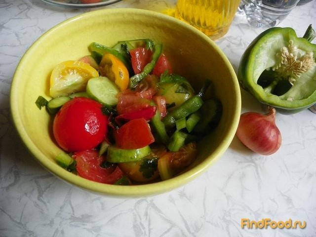 Рецепт Салат по-молдавски рецепт с фото
