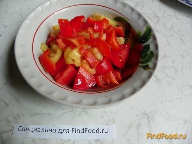 рецепт салата из болгарского перца и ветчины рецепт