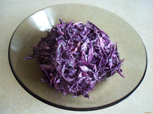 салат из краснокочанной капусты простые рецепты