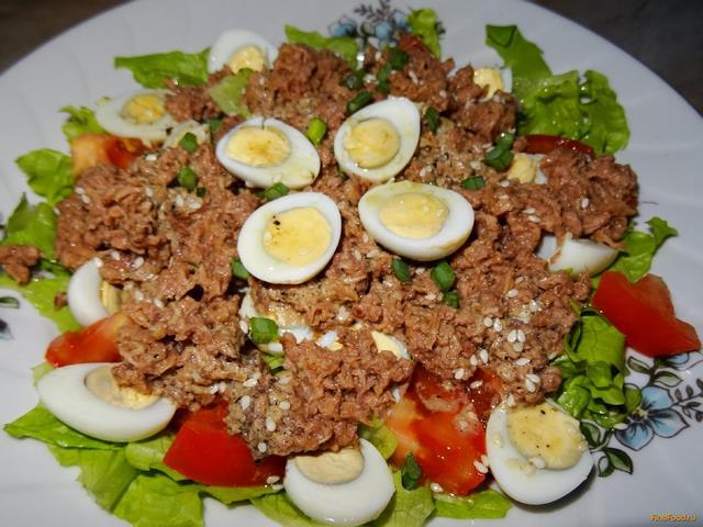 Легкие салаты яйцами рецепты фото
