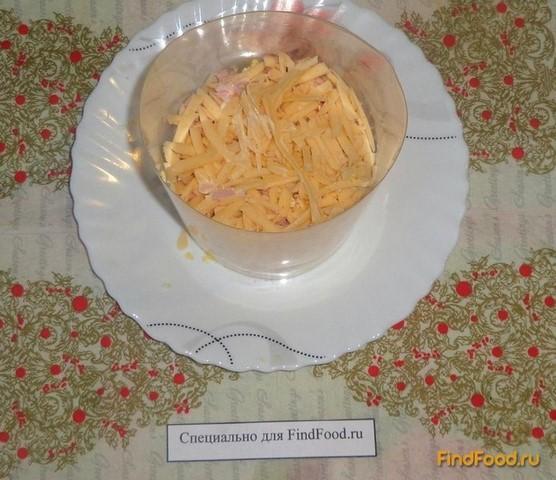 салат из сухариков слоеный рецепт